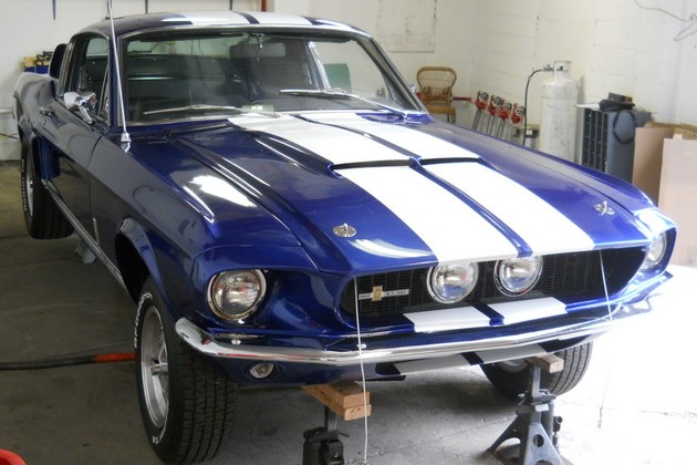 auto appraisals alan 1967 ford shelby mustang gt 350 recreation. Black Bedroom Furniture Sets. Home Design Ideas