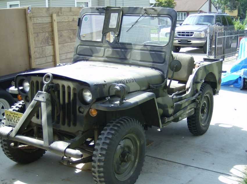 1942 Ford Military Jeep